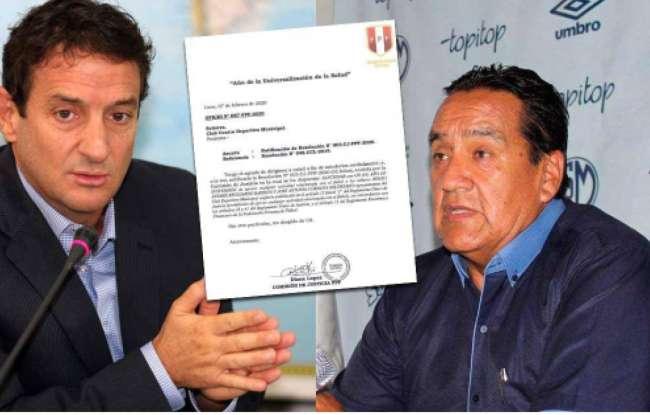 CJ-FPF inhabilitó por 1 año a Reggiardo y Córdova de ejercer actividad relacionada al fútbol