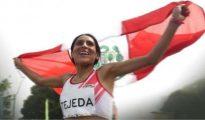 Gladys Tejeda superó marca mínima y clasificó a Juegos Olímpicos
