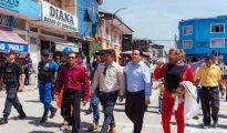 En marcha exigen al Gobierno Central construcción del puente Tarata