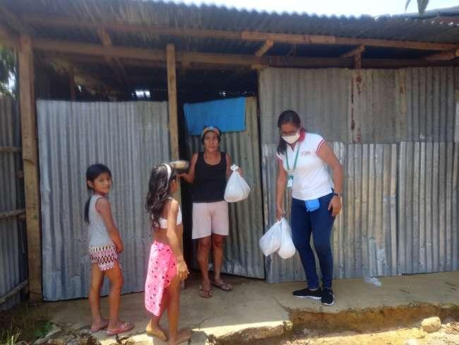MPSM inicia entrega de apoyo humanitario en Tarapoto