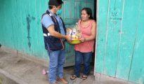 ALCALDE DE SORITOR ENTREGO VÍVERES A FAMILIAS DE BAJOS RECURSOS