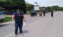 Fiscales de Uchiza inspeccionaron ingreso de vehículos por la frontera San Martín – Huánuco