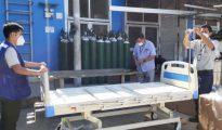 EsSalud Tarapoto recibió nueva dotación de equipos e insumos médicos para atención de pacientes Covid-19