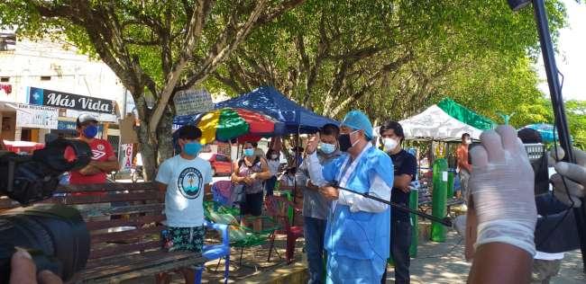 Ministerio Público investiga la falta de oxígeno en los hospitales de Tarapoto