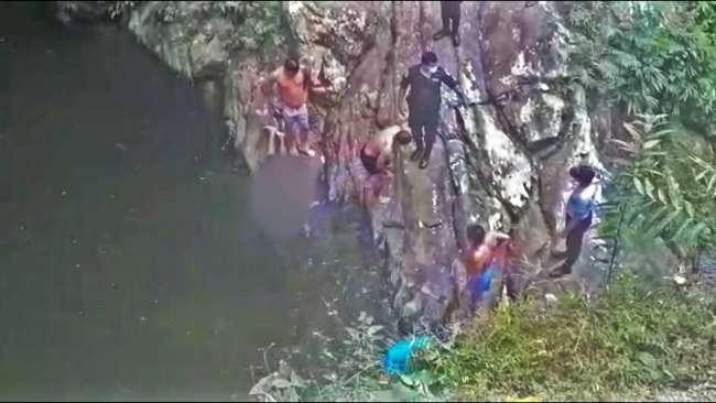 Hombre natural de Bello Horizonte muere al resbalarse y caer a quebrada