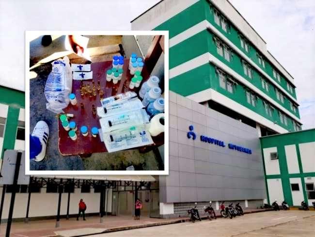 Goresam y Ministerio Público tras posible red de tráfico de medicinas en Hospital de Moyobamba