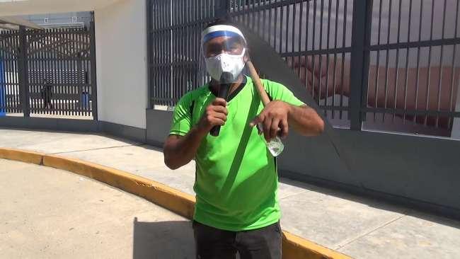 Deportista y activista social Carlin Castillo está delicado de salud a causa del COVID