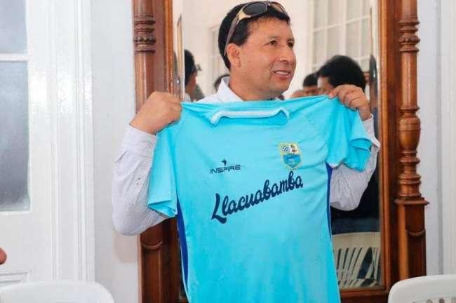 """Pdte. de Llacuabamba: """"FPF nos dará para pagar la planilla de los últimos dos meses"""""""