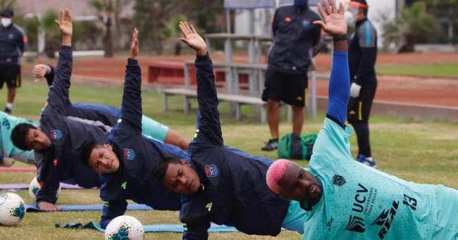 César Vallejo hizo su primer entrenamiento en Lima