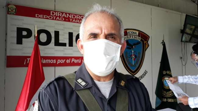 Anuncia que reiniciarán operativos policiales para hacer cumplir cuarentena en San Martín