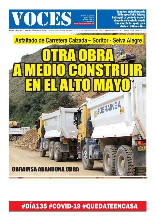 Diario Digital Miércoles 29 de Julio del 2020
