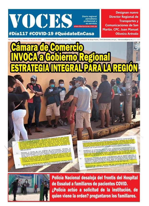 Diario digital Viernes 10 de julio 2020