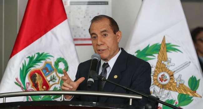 Ministro de Defensa anunció que se extendería el estado de emergencia