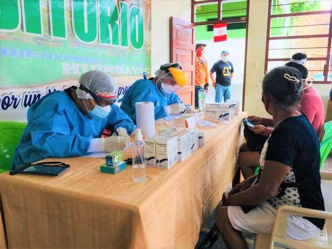 Casi el 60% de los pobladores del Bajo Huallaga tiene Covid 19