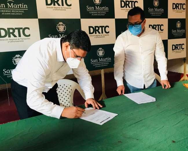 Designan nuevo director regional de Transportes y Comunicaciones San Martín