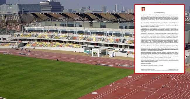 Federación de Atletismo se opone a que Estadio en La Videna se use para la Liga 1