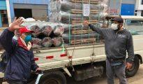 """Colectivo del Alto Mayo """"Juntos podemos""""  optaron  por comprar  balones  e insumos para fabricar ivermectina"""