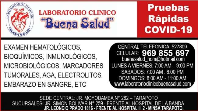 Laboratorio Clínico Buena Salud