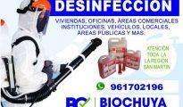 Desinfección BIOCHUYA