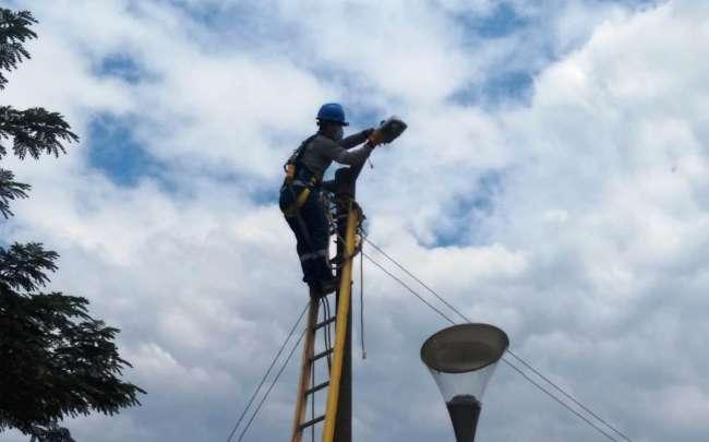 Tecnología LED en el  alumbrado público en el Alto Mayo