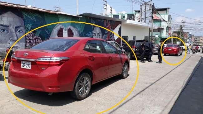 Intervienen a dos conductores por dejar mal estacionados sus vehículos