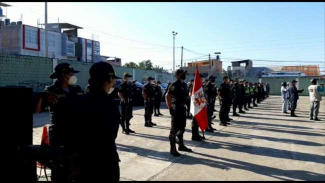 Dan bienvenida a 100 policías que tras vencer al COVID – 19 se reincorporaron a sus centros de labores