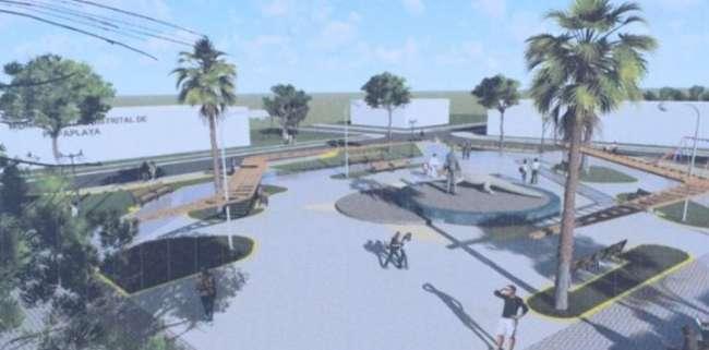 MPSM ejecutará el mejoramiento de la Plaza de Papaplaya