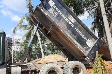 Municipalidad de Barranquita presta apoyo con pool de maquinaria a la ADEL Bajo Huallaga