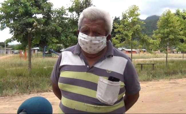 Conocido dirigente Cerquen Osorio, lucha contra el coronoavirus