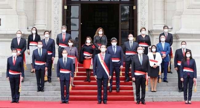 Gabinete Martos juró este jueves ante el presidente Vizcarra