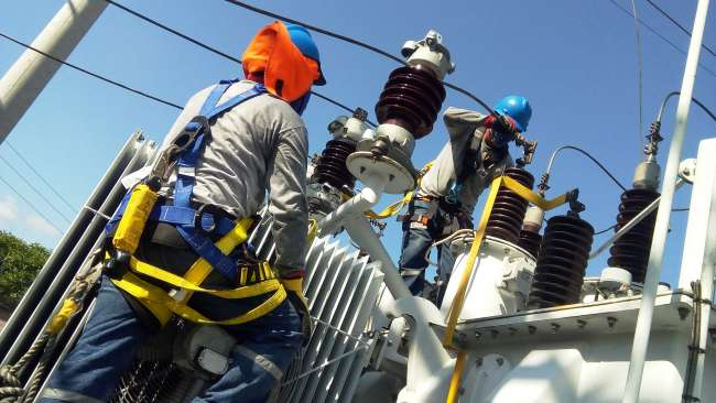 En Alto Amazonas, Tarapoto, Lamas en distritos y localidades anexas se realizaron trabajos en redes eléctricas y sub estaciones.