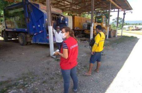 Identifican riesgo de contagio por COVID-19 en obreros de limpieza pública