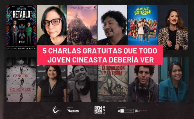 """Cineastas de """"Retablo"""", """"La revolución y la tierra"""", """"Canción sin nombre"""", """"No Me digas solterona"""" y """"Nuna"""" darán charlas gratuitas para jóvenes de todo el Perú y Latinoamérica"""