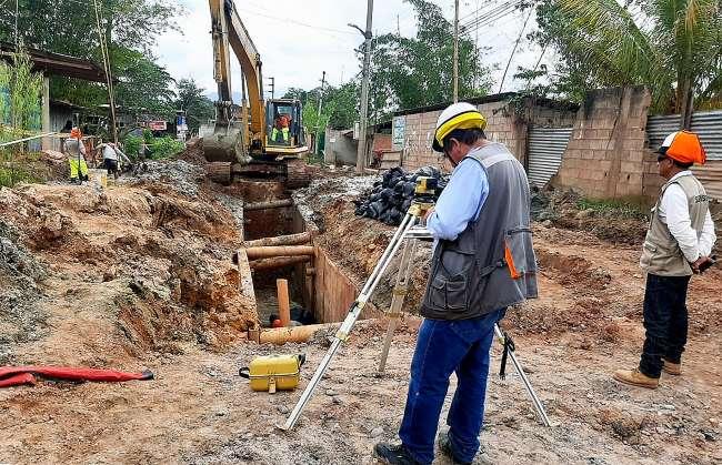Reinician obras de agua y desagüe para cerca de 6000 habitantes de El Sauce