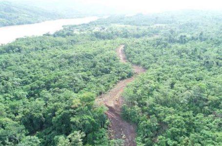 Reinician construcción de la carretera Chazuta – Curiyacu