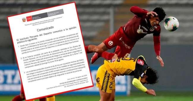 IPD suspendió lo que resta de la jornada 7 del Apertura