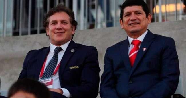 """Pdte. de Conmebol: """"Felicitaciones por el retorno del fútbol peruano"""""""