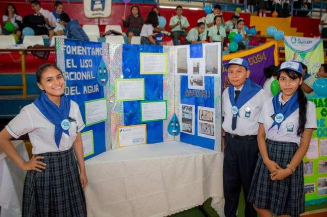 Inscripción para participar en concurso escolar de la SUNASS vence el 20 de agosto