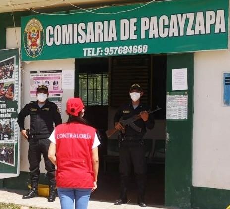 Contraloría advierte irregularidades en la PNP San Martín