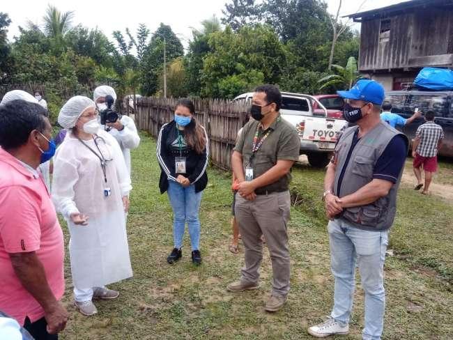 Detectan 23 casos positivos en el Centro Poblado de Huayali