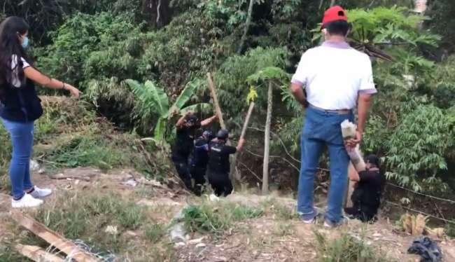 Intentan apoderase de terreno municipal en el exbarranco Mama Shofi