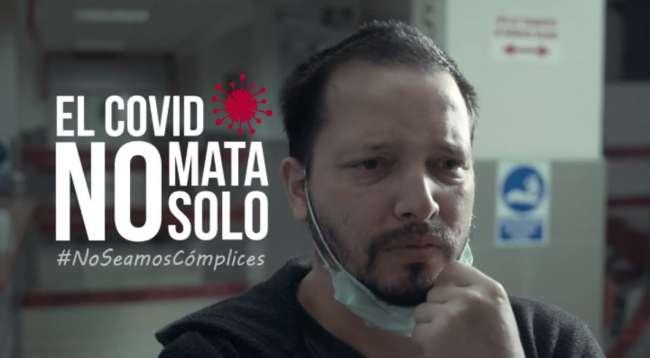 """Presidente Vizcarra invoca a la población a sumarse a campaña   """"El covid no mata solo. No seamos cómplices"""""""
