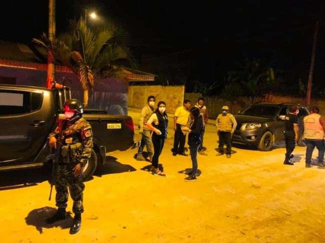 PNP realizó operativos en puntos estratégicos de Moyobamba