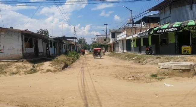 Aprueban reiniciar obras de asfalto del jirón Pedro Pascasio Noriega