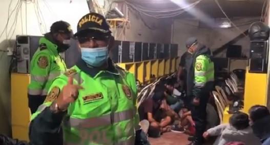 Policía impuso papeletas a personas que se encontraban practicando deporte