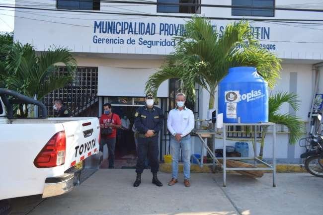 Sede de Monitoreo de la Central  Unificada 105 se traslada a Serenazgo de Tarapoto