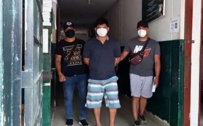 Intervienen a mototaxista por hurto de productos de belleza en Morales