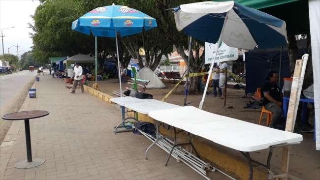 Familiares de los pacientes COVID del Hospital II – 2 de Tarapoto se van quedando sin alimentos