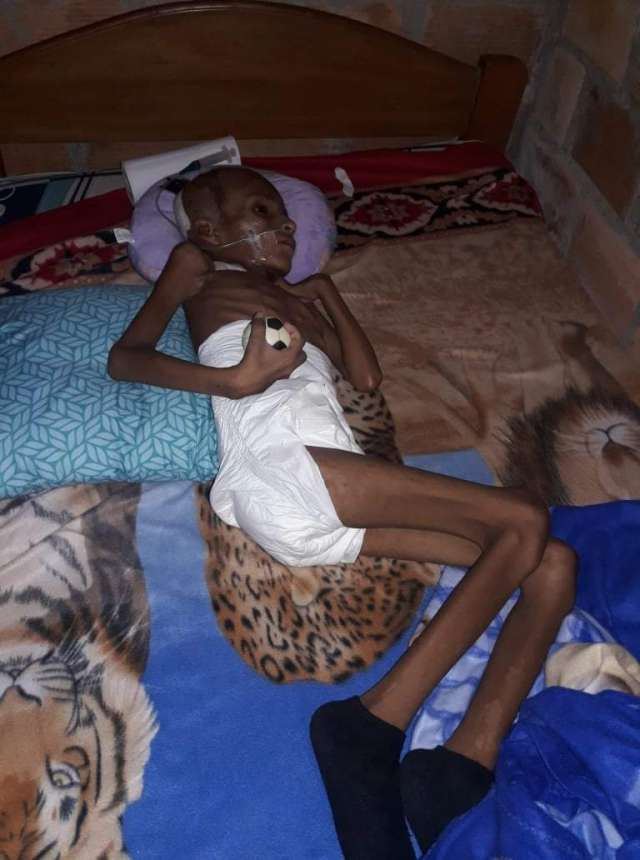 Muchacho de 13 años sufrió accidente, dos meses internado y quedó en estado vegetativo