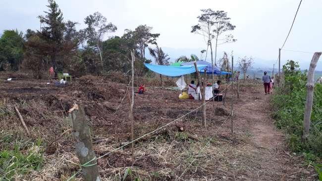 Intervienen a varias personas que ofrecían lote de terreno en el sector Sananguillo